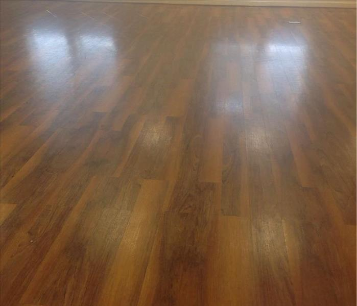 Commercial Hardwood Cleaning Before
