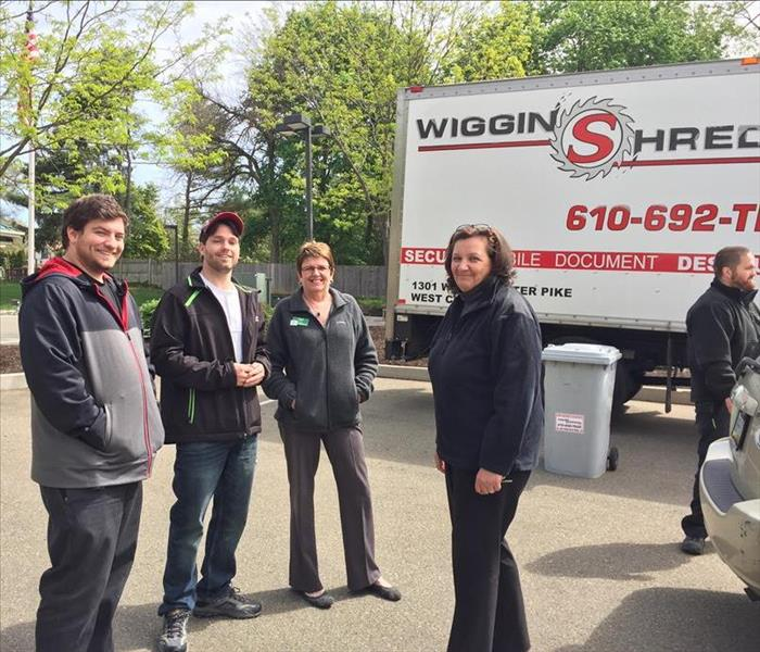 Kennett Square Shredding Event